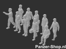 Landmacht Satze 3 | Arbeitende Soldaten