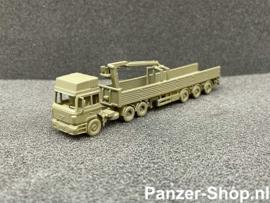 MAN F2000, Zugmaschine & Baustoff Anhänger