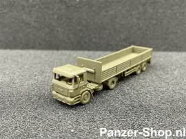 MAN F2000, Tractor & Geopende Trailer