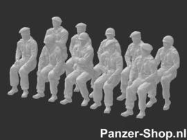 Bundeswehr Satze 2 | Sitzende Soldaten