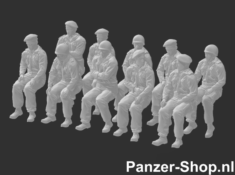 (TT) Bundeswehr Set 2   Zittende Soldaten
