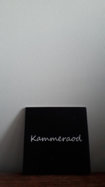 Kammeraod (zjwart)