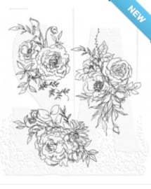 Floral Outlines (CMS430)