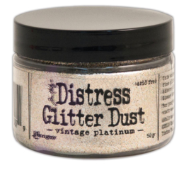 Distress Glitter Dust Vintage Platinum TDR49753