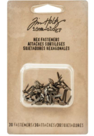 Idea-Ology Antique Hex Fasteners TH93268