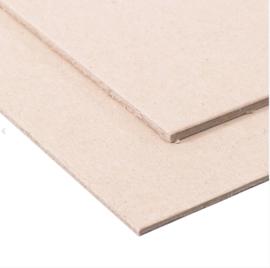 Chipboard 0,6 mm dik, 4 plaatjes van 20 x 30 cm