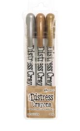 Distress Crayons Metallic TDBK58700