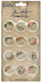 Idea-Ology Quote Flair Buttons TH94166