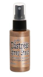 Distress Spray Antique Bronze