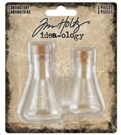 Idea-Ology Small Corked Glass Flasks (TH94080)