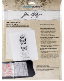Stamp Storage Sheets van Tim Holtz
