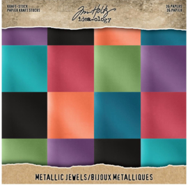 Idea-Ology Kraft Stock Metallic Jewels