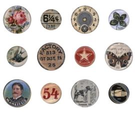 Idea-Ology Mini Flair Buttons (TH94129)