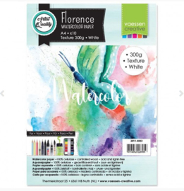 Florence Water Color Paper 300 gram, Intense White A4 (2911-4003)