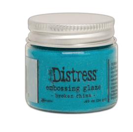 Distress Embossing Glaze Broken China