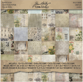"Idea-Ology Papierblok Wallflower 12"" x 12"""