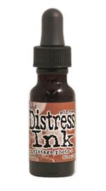Navulling Distress Vintage Photo