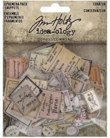 Idea-Ology Ephemera Snippets Curator (TH94152)