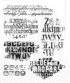 Faded Type (CMS397)