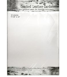 Distress Cracked Leather Cardstock