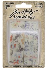 Idea-Ology Linen Tape Floral (TH94139)