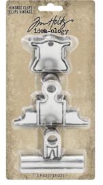 Idea-Ology Metal Vintage Clips (TH93795)