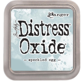 Distress Oxide Speckled Egg