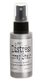 Distress Spray Brushed Pewter
