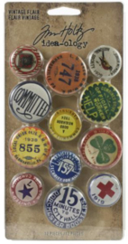 Idea-Ology Vintage Flare Buttons (TH94027)