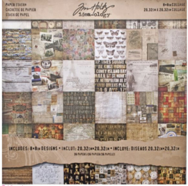 "Idea-Ology Papierblok Collage 8"" x 8"""