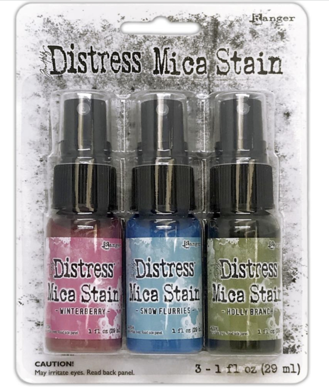 Distress Mica Stain Holiday Set #2 SCK78241