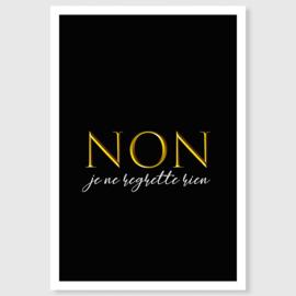Non! (zwart)