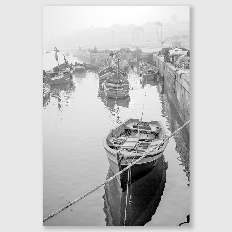 Marokko boot 1 zwart/wit