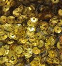 Pailletten Geel 5mm