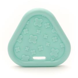 Plastic Bijtfiguur - Triangel - Mint