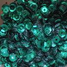 Pailletten BlauwGroen 5mm