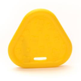 Plastic Bijtfiguur - Triangel - Geel