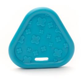 Plastic Bijtfiguur - Triangel - Blauw