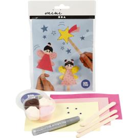 Mini Creatieve Set, , ijsstokjesfiguren - prinsessen