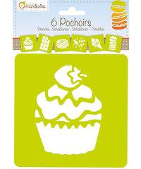 Sjablonen Snoepgoed Set van 6
