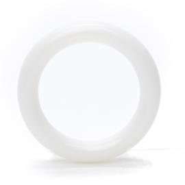 Plastic Ring - Wit - 30mm