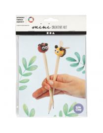 Mini Creative Kit, , boetseren - potlood toppers