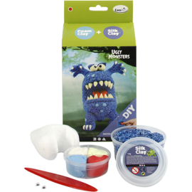 Ugly Monster - Foam Clay - Blauw
