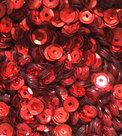 Pailletten Rood 5mm