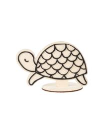 Schildpad op standaard