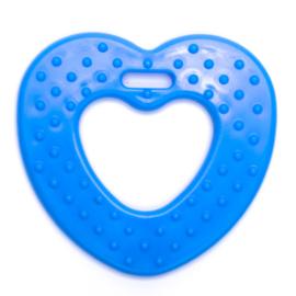 Plastic Bijtfiguur - Hart - Blauw