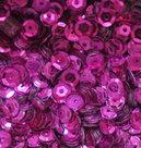 Pailletten Fuchsia 5mm