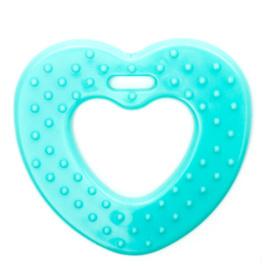 Plastic Bijtfiguur - Hart - Mint