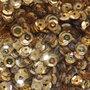Pailletten Goud 5mm