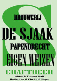 "De Sjaak ""Eigen Weizen""  12 st"
